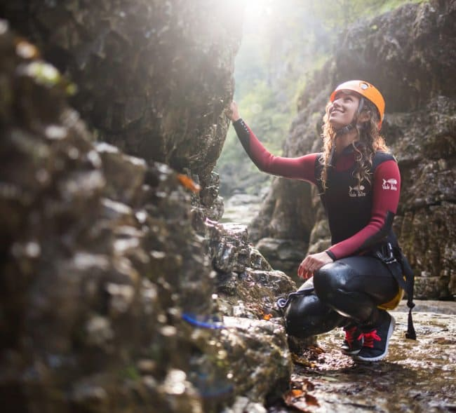 Canyoning in the province of Salzburg © SalzburgerLand Tourismus-Michael Groessinger